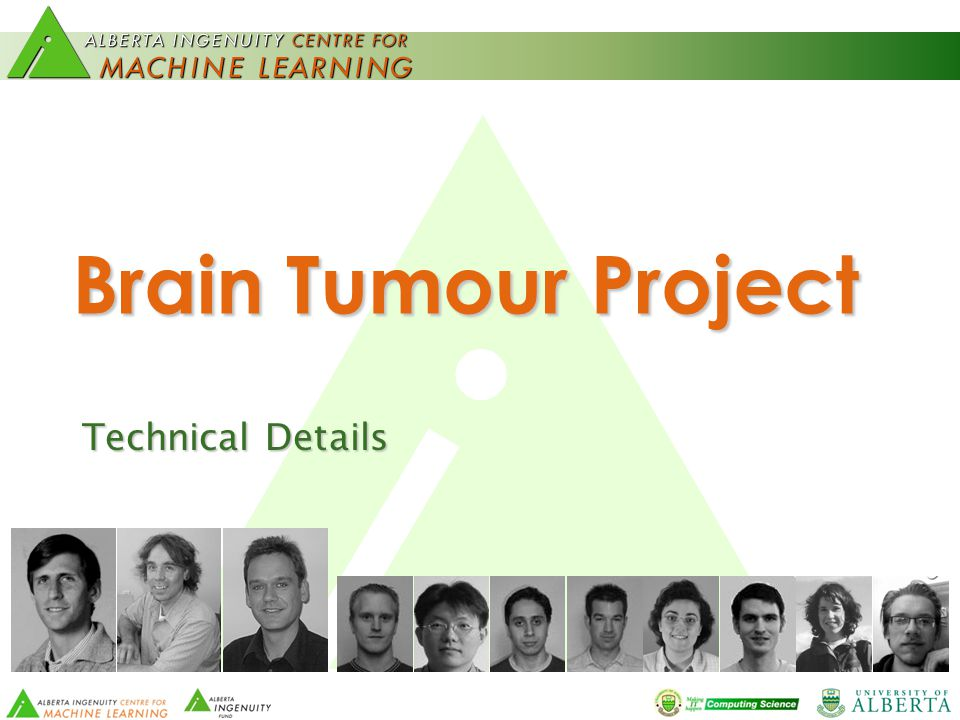 Brain Tumour Project Technical Details