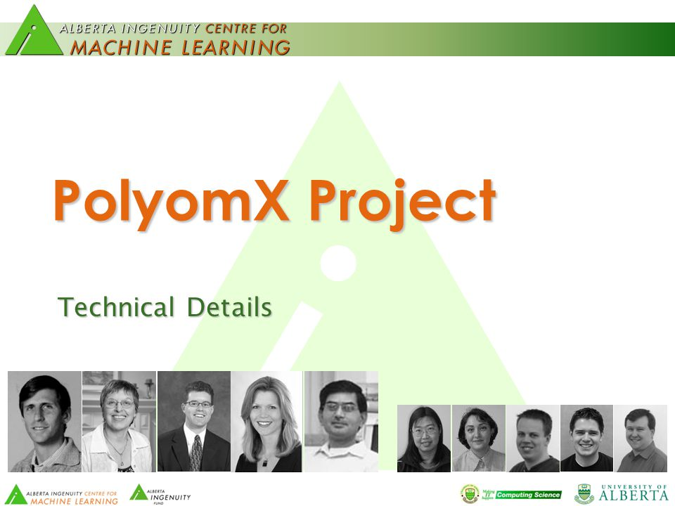 PolyomX Project Technical Details
