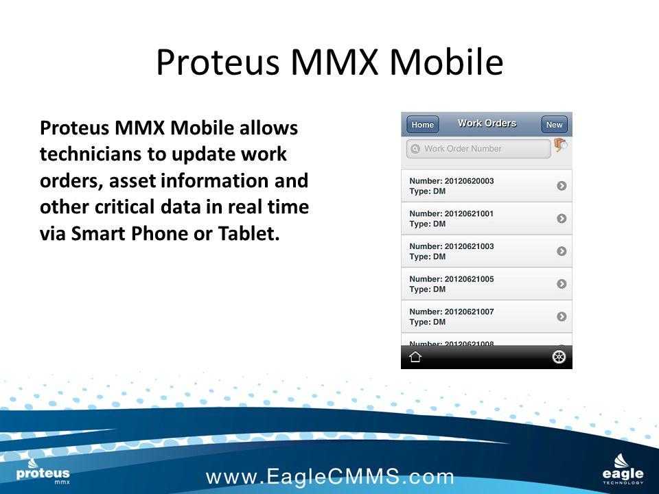 Proteus MMX Mobile Put the power of Proteus MMX in the palm of your hand with Proteus MMX Mobile.