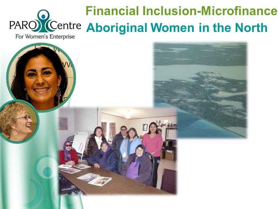 Financial Inclusion-Microfinance Aboriginal Women in the North