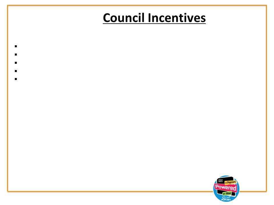 Council Incentives     