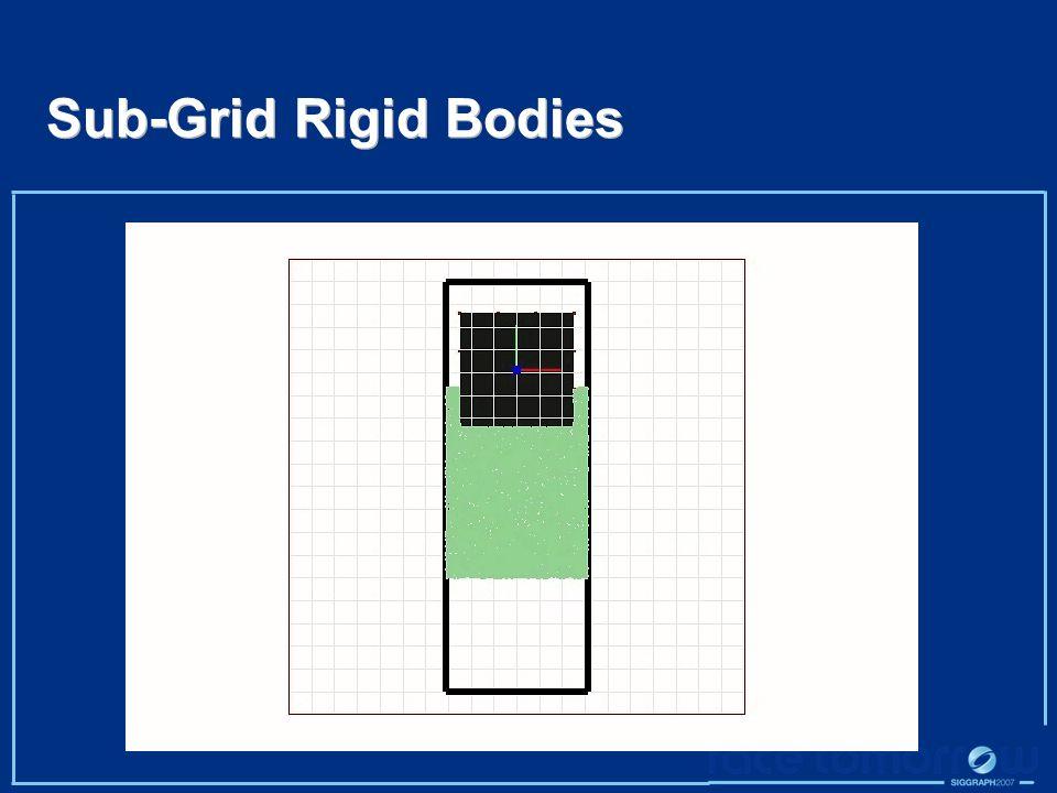 Sub-Grid Rigid Bodies