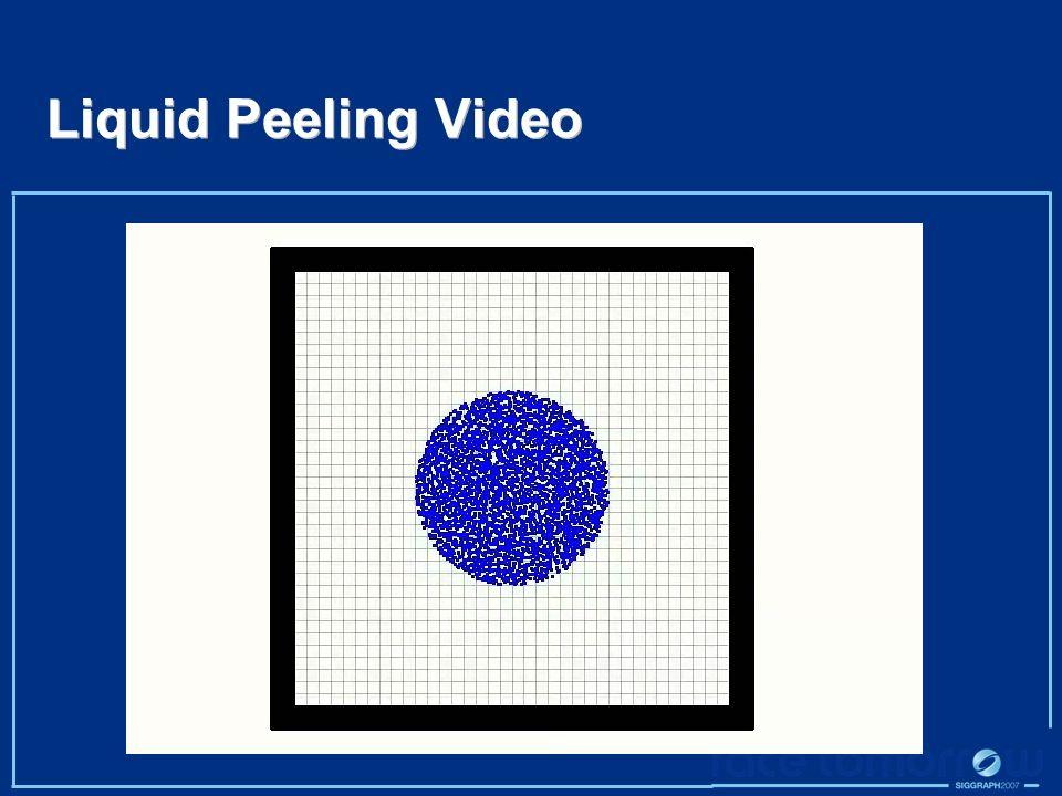 Liquid Peeling Video