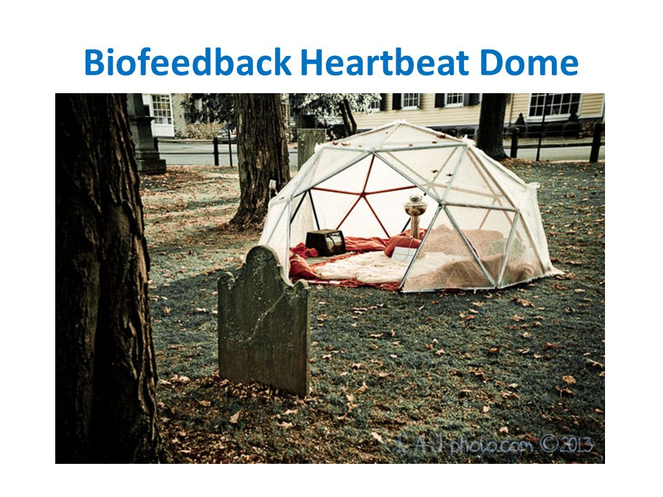 Biofeedback Heartbeat Dome