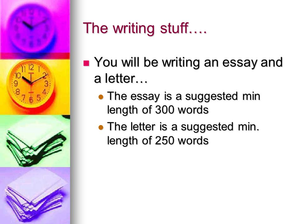 Evaluation: Evaluation: Your essay must present your own thoughts.