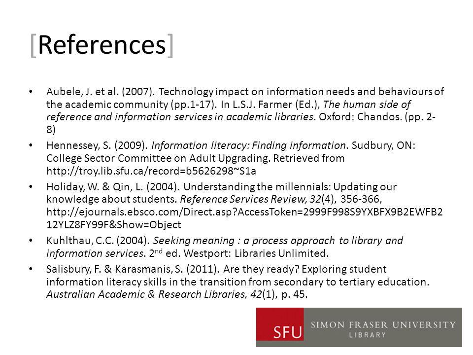 [References] Aubele, J. et al. (2007).
