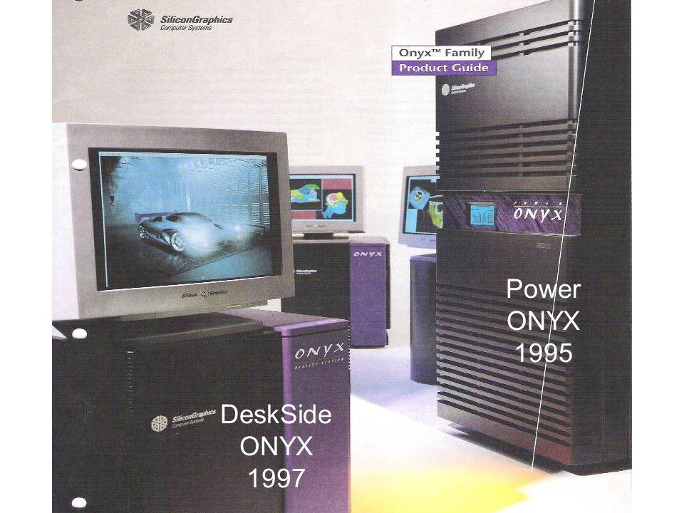 Power ONYX 1995 DeskSide ONYX 1997