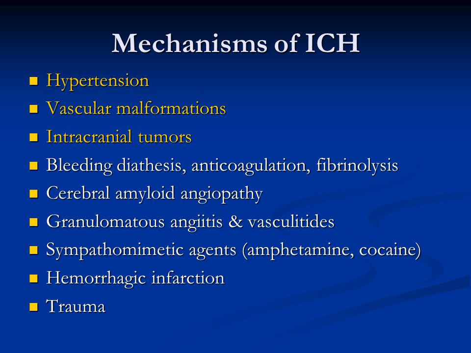 Indications for ICP monitoring ABSOLUTE Severe head injury (GCS  8) AND abnormal CT Severe head injury (GCS  8), normal CT, AND at least 2 of the following: Age 40 years or greater Motor posturing Systolic BP  90 mm Hg RELATIVE Impossible serial neurological examination due to: Intubation, deep sedation or paralysis Immediate non- neurosurgical procedure Large cerebral infarction with high risk of cerebral edema SAH with hydrocephalus CNS tumor CNS infection