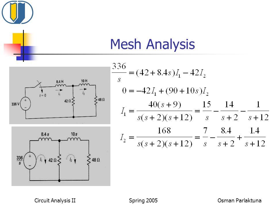 Mesh Analysis