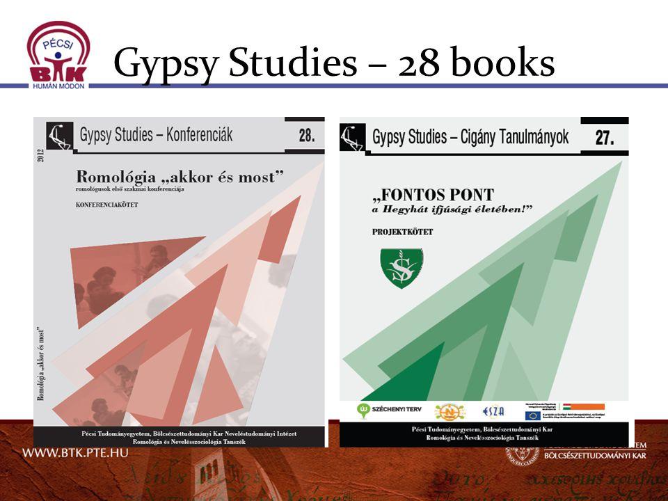 Gypsy Studies – 28 books
