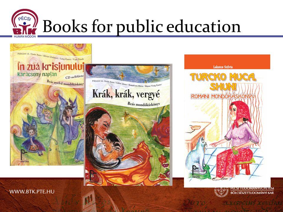 Books for public education