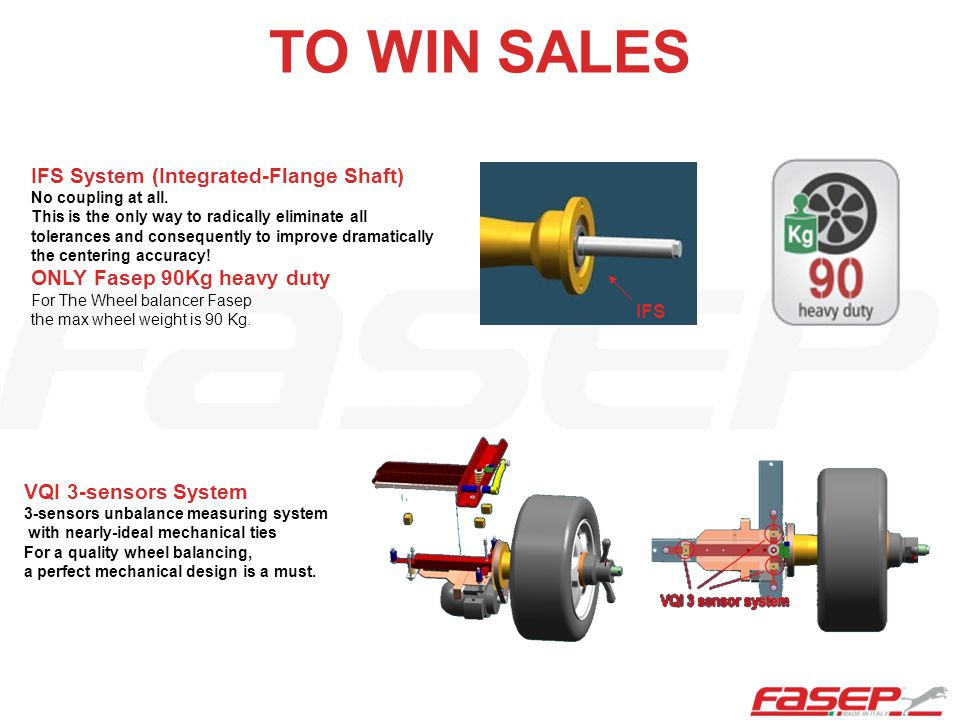 TO WIN SALES IFS System (Integrated-Flange Shaft) No coupling at all.