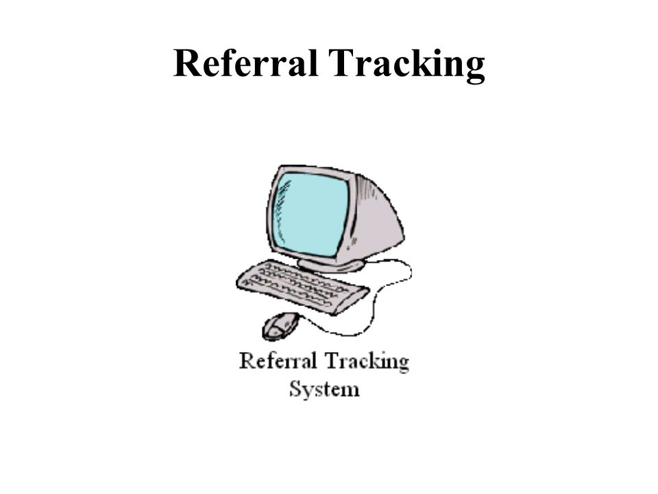 Referral Tracking