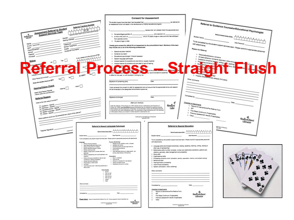 Referral Process – Straight Flush