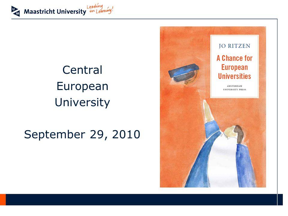 Central European University September 29, 2010