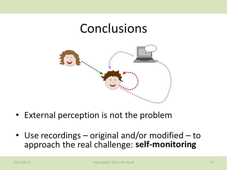 2012-09-11Interspeech 2012, Portland12 Worse performance on modified stimuli.