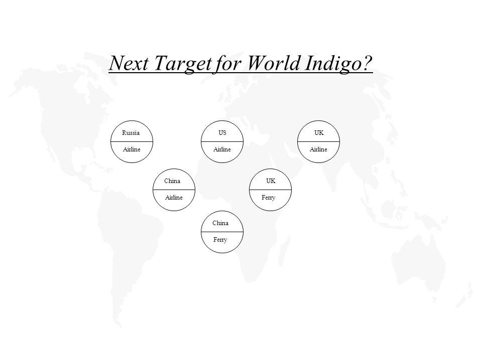 Next Target for World Indigo.