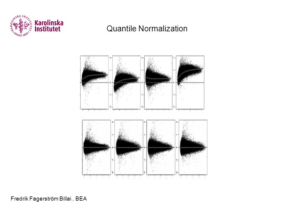 Fredrik Fagerström Billai, BEA Quantile Normalization