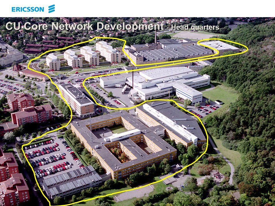 EAB/UK/T Technology & Prototyping 2003-11-076 CU Core Network Development - Head quarters