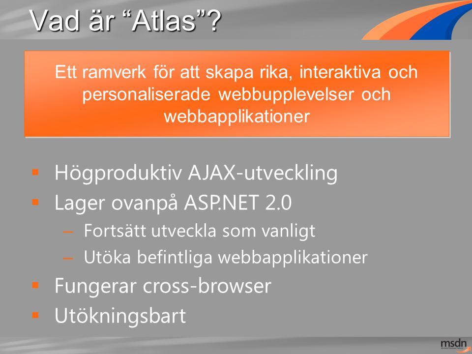 Vad är Atlas .
