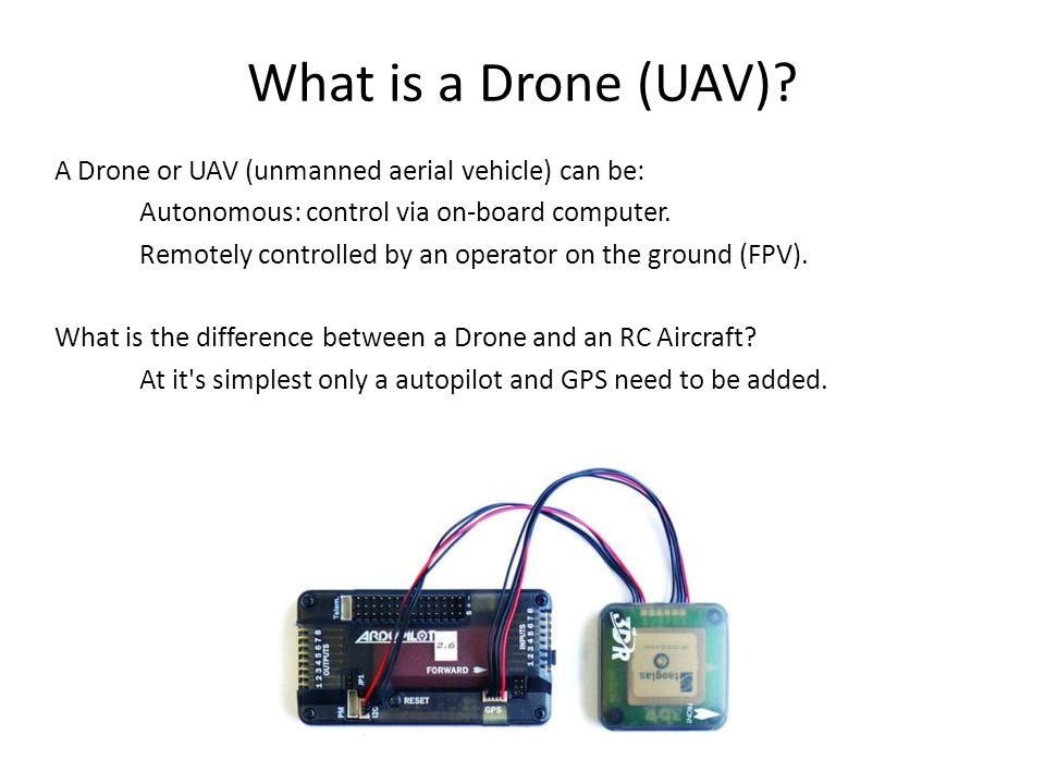 What is a Drone (UAV).