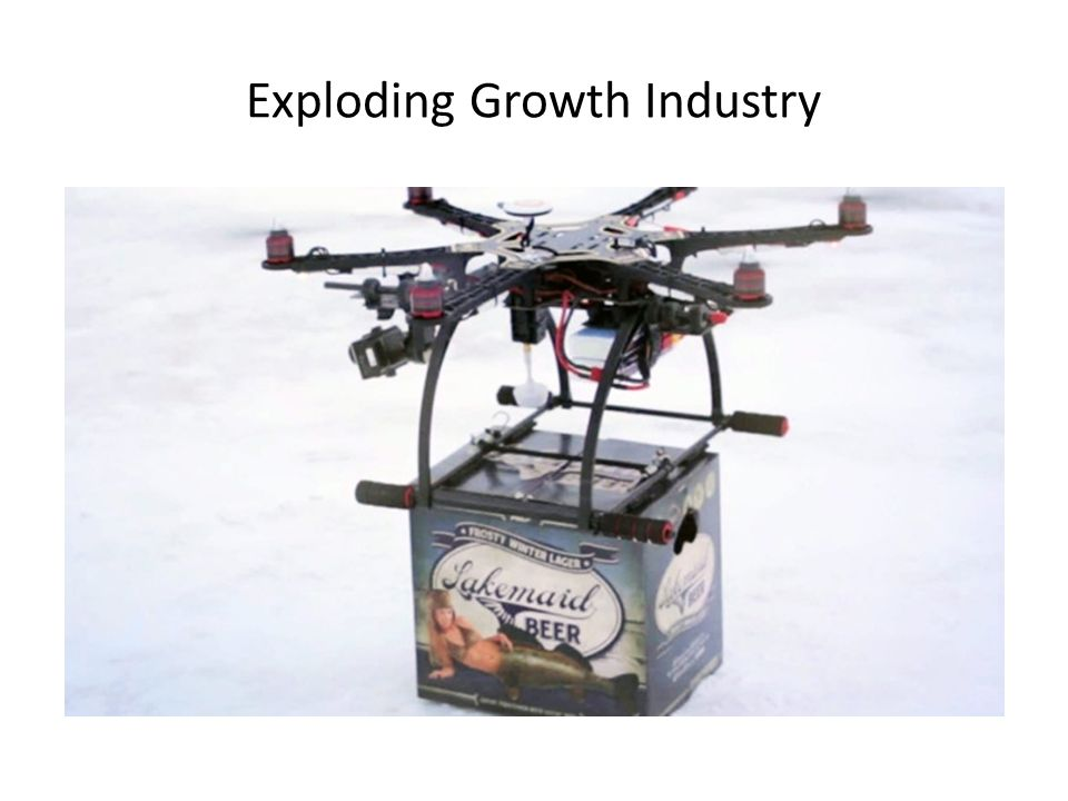 Exploding Growth Industry