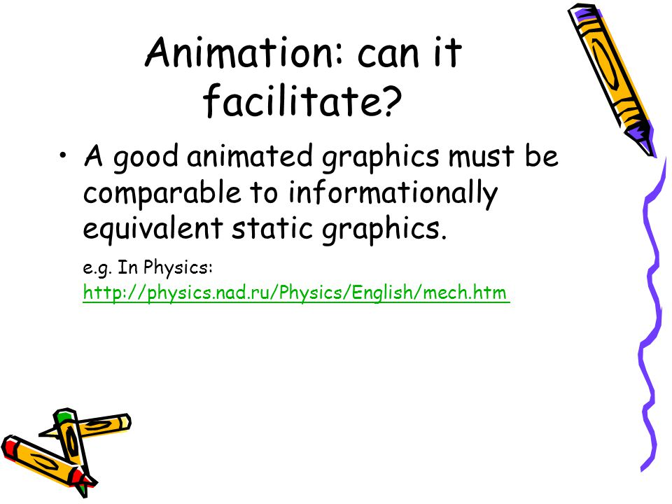 Animation: can it facilitate.