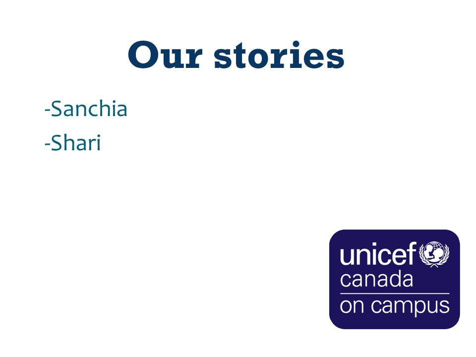 Our stories -Sanchia -Shari