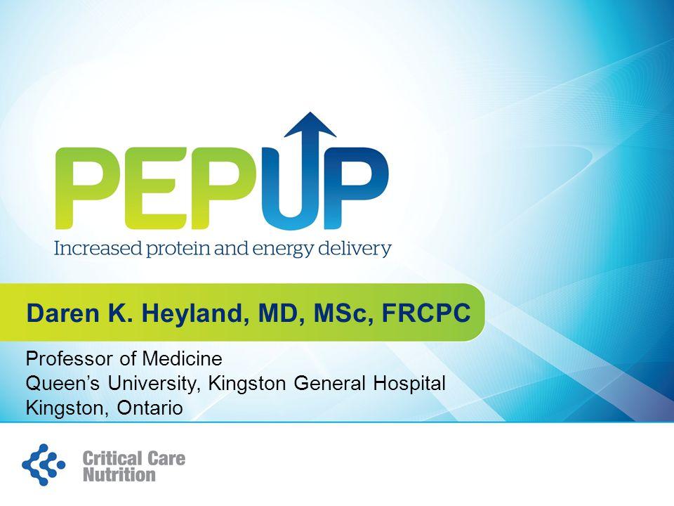 Professor of Medicine Queen's University, Kingston General Hospital Kingston, Ontario Daren K.
