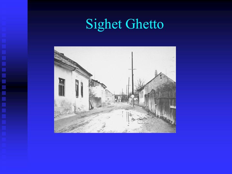 Sighet Ghetto