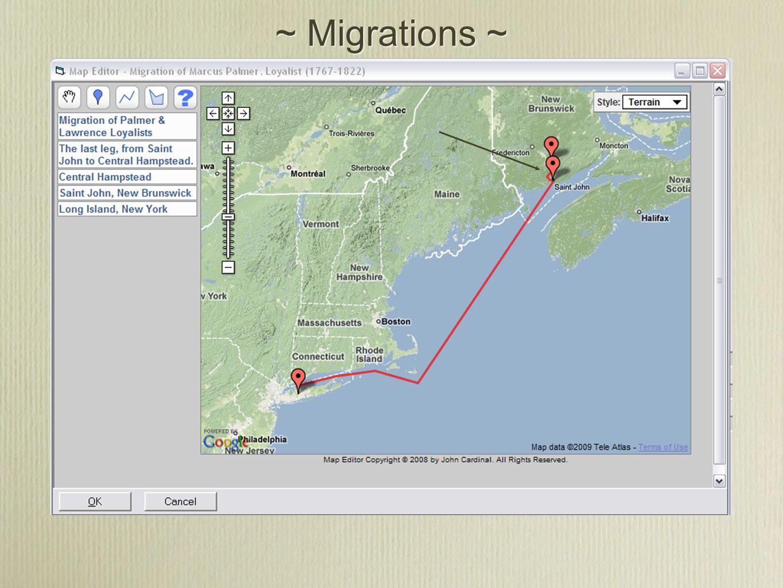 ~ Migrations ~