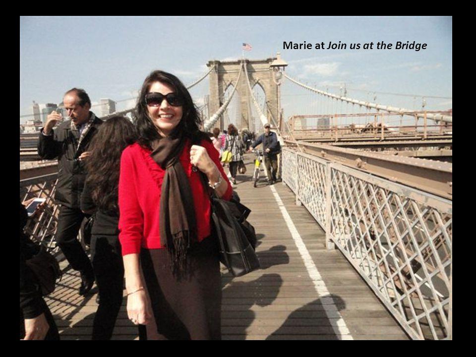 Marie at Join us at the Bridge