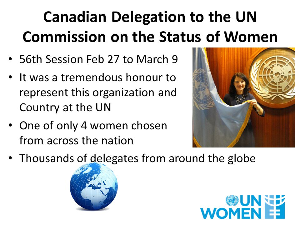 The CSW56 session formally closed on March 15 No outcome document was reached However: – We made good progress….