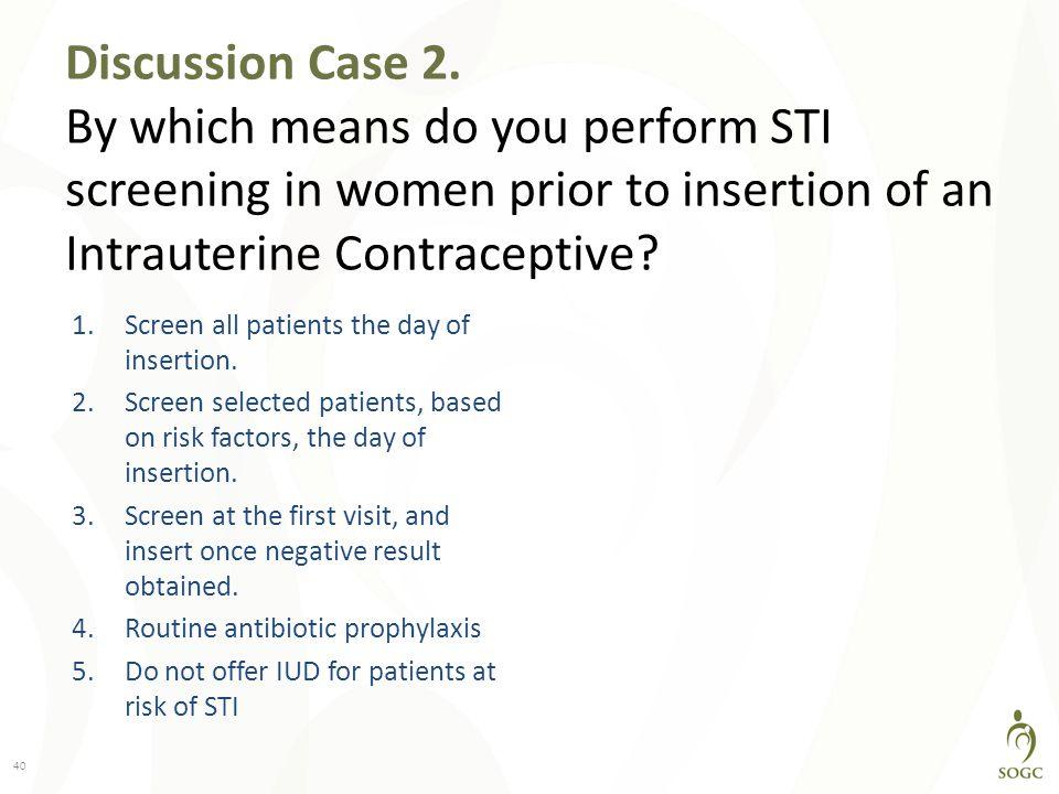 Discussion Case 2.