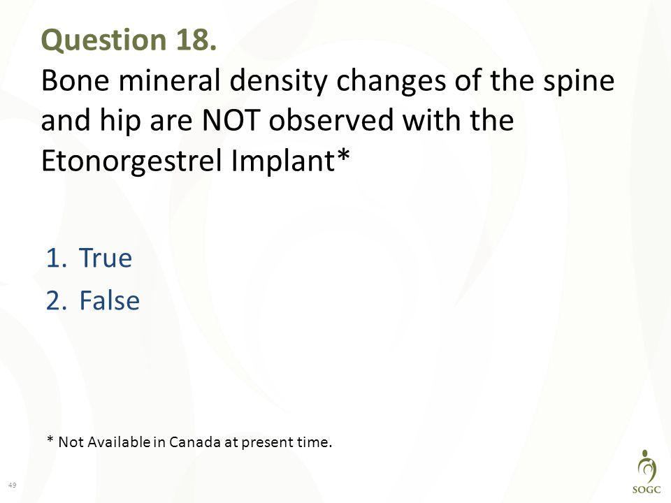 Question 18.