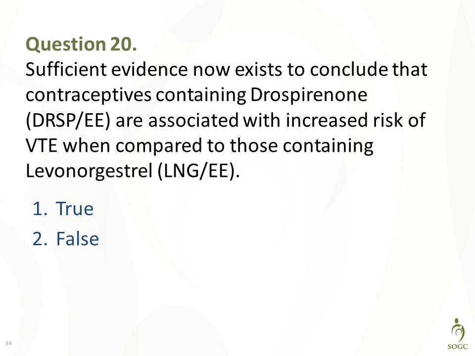Question 20.
