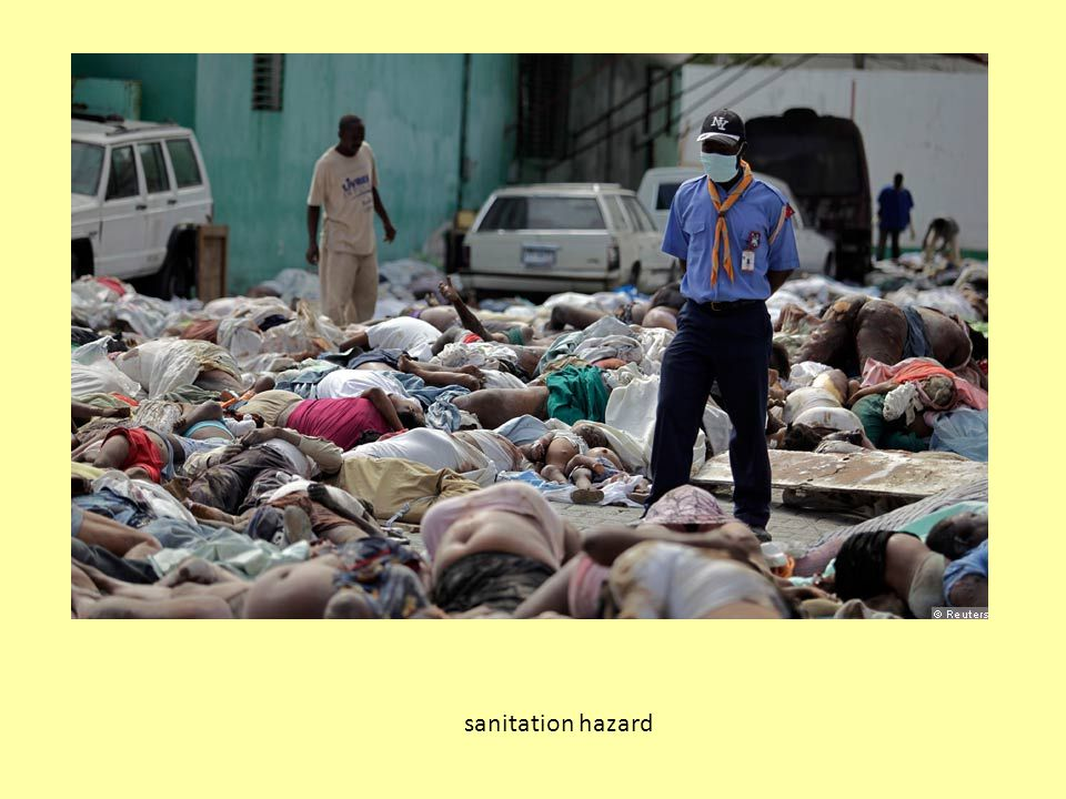 sanitation hazard