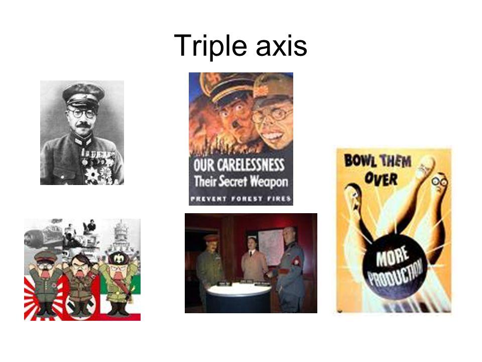 Triple axis