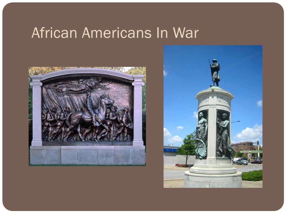 African Americans In War