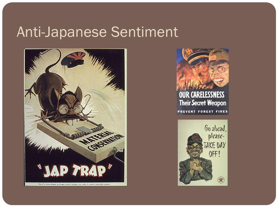 Anti-Japanese Sentiment