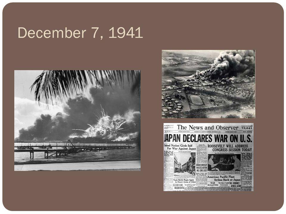 December 7, 1941