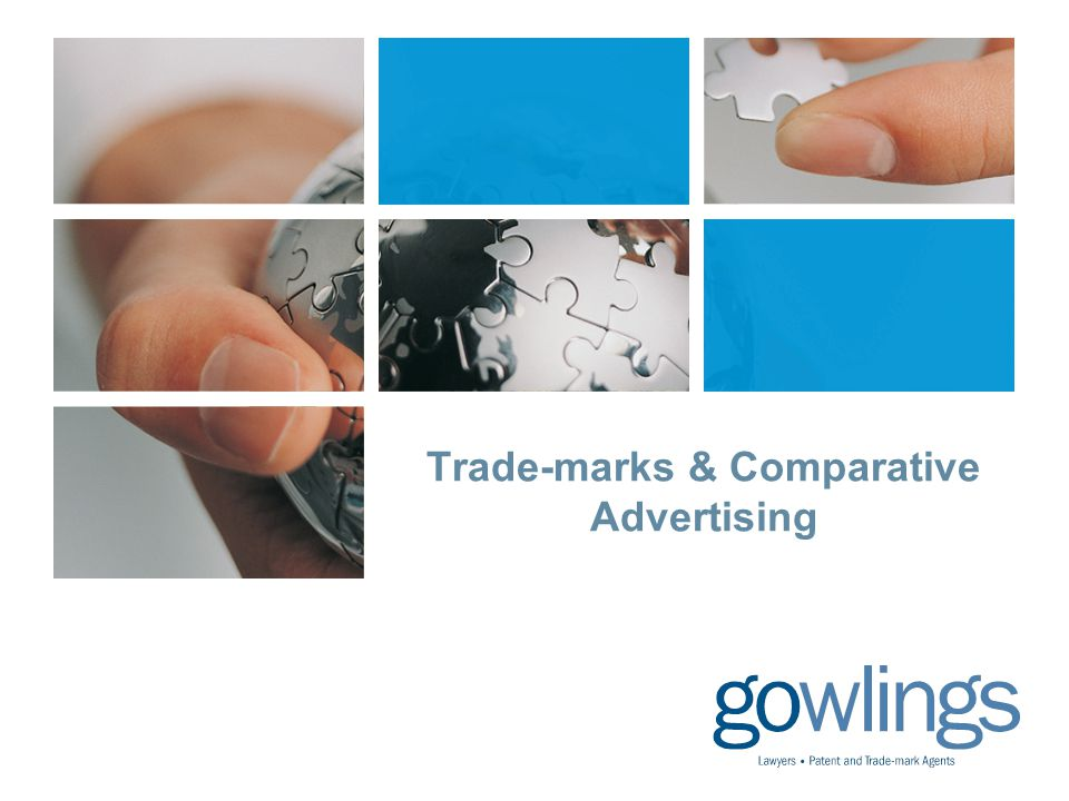Trade-marks & Comparative Advertising