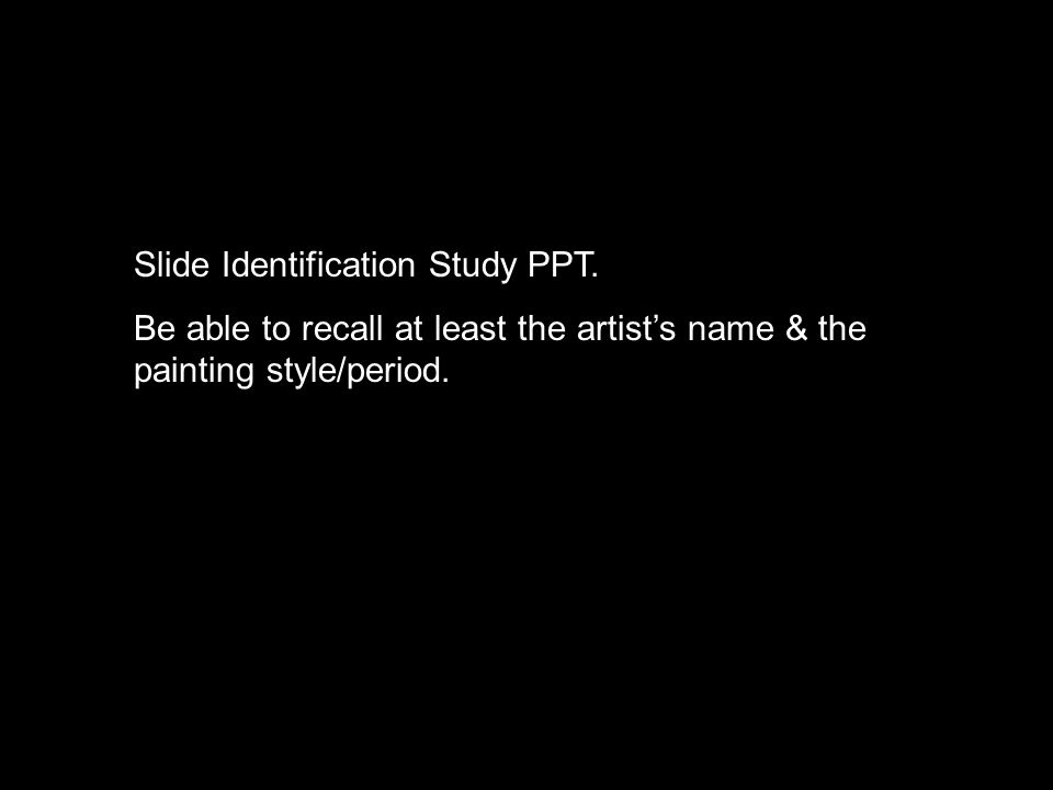 Slide Identification Study PPT.