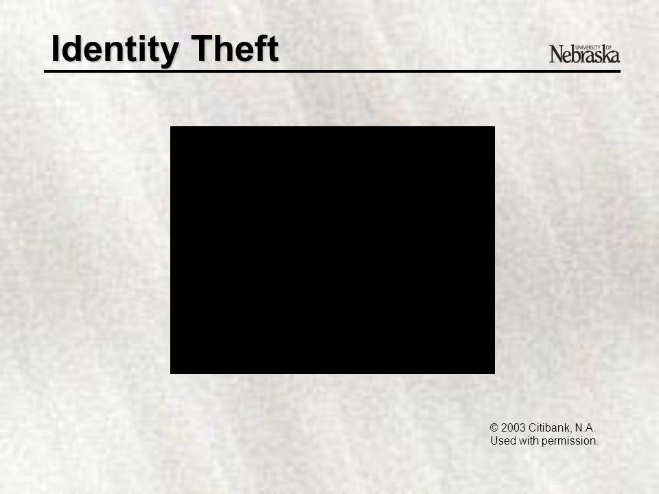 "Identity Theft Operation Web Snare IndictmentsOperation Web Snare Indictments –Internet ""sales"" of phantom items –Credit card trafficking via Internet"