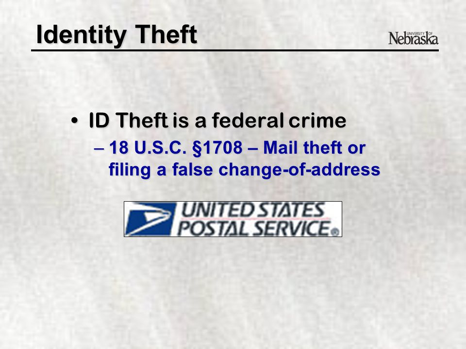 Identity Theft What exactly is it What exactly is it.