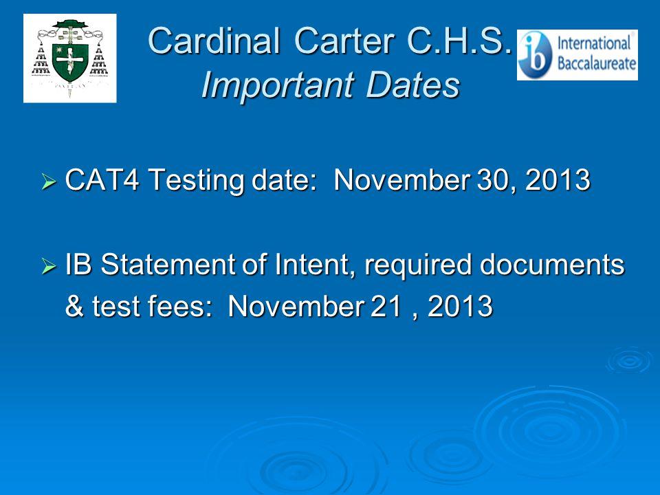 Cardinal Carter C.H.S.
