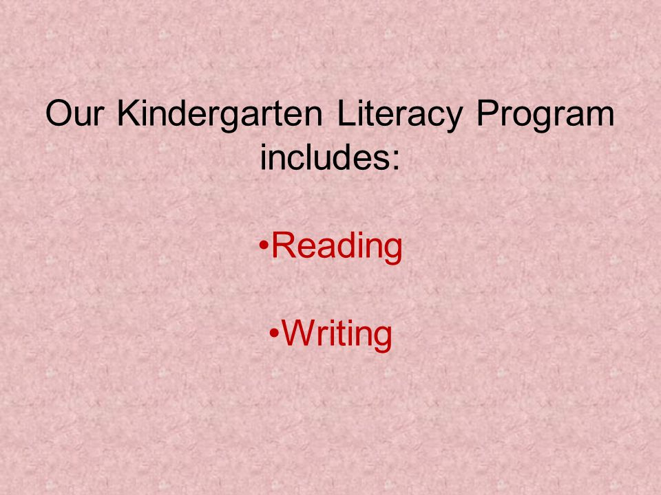 When Does Literacy Happen.