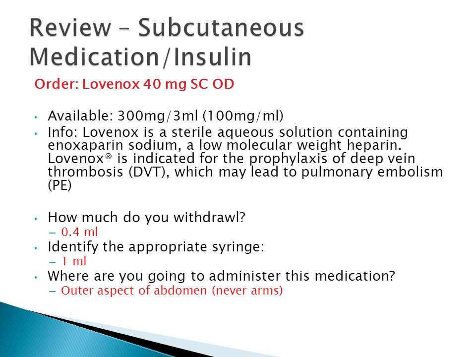 Mixing Two Insulin s in One Syringe Important information you need to know.