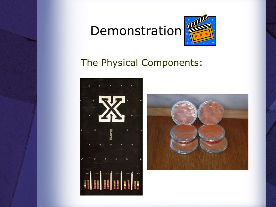 Demonstration The Physical Components: