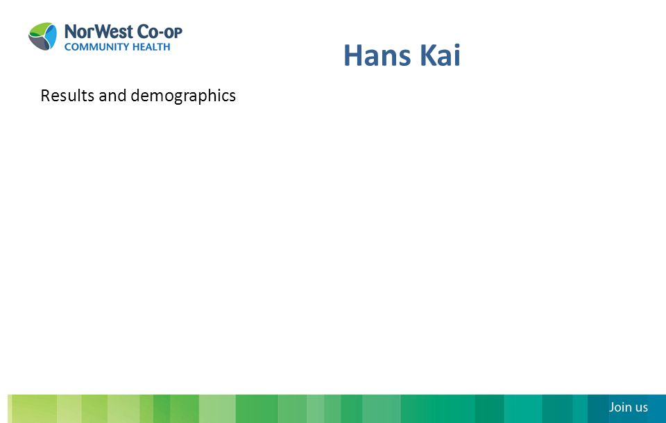 Hans Kai Results and demographics